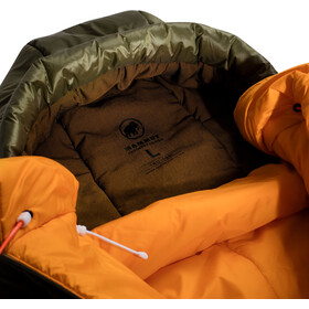 Mammut Perform Fiber Bag Sleeping Bag -7C L Men olive